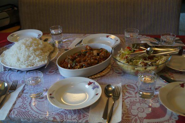 Thaimaalaista ruokaa